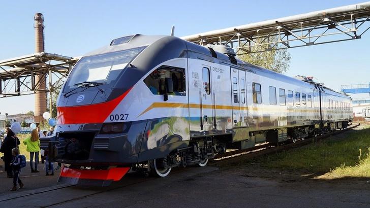 Трансмашхолдинг отправил двухвагонный электропоезд ЭП2Д в Армению
