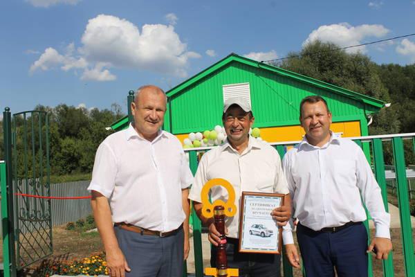 В Атнинском районе открылся новый ветеринарный пункт