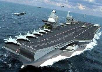Техпроект перспективного авианосца ВМФ РФ будет готов к концу 2010 г.