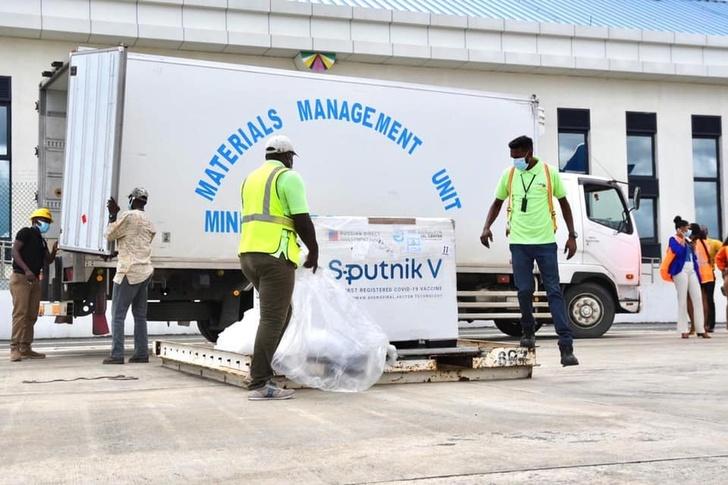В Гайану доставлена четвертая партия вакцины «Спутник V»