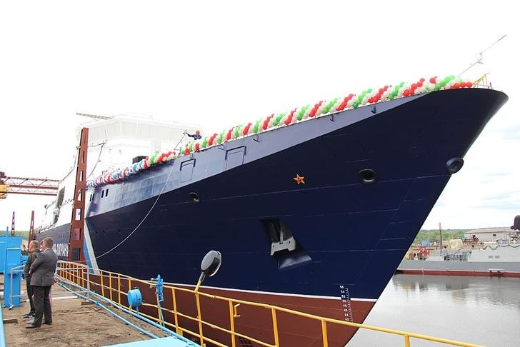 В Зеленодольске спущен на воду ПСКР «Анадырь»