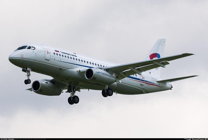 Первый Суперджет для авиакомпании «Северсталь»