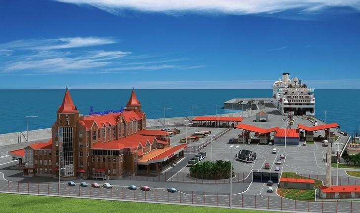 В Калининградской области началось строительство терминала для круизных судов