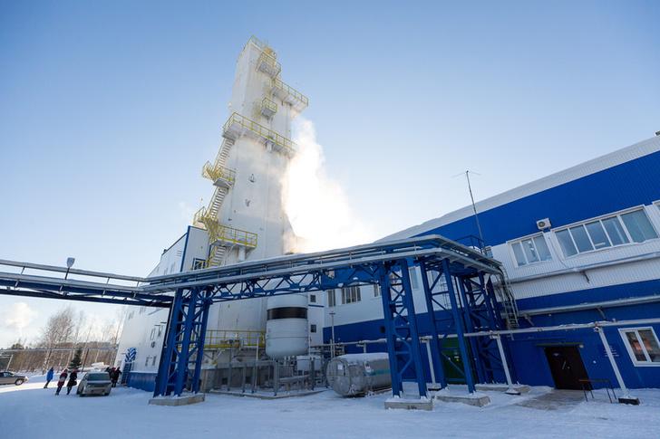 Завод технических газов запущен в Томске