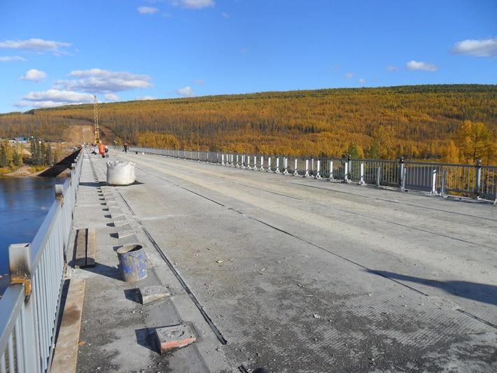 Мост через Алдан