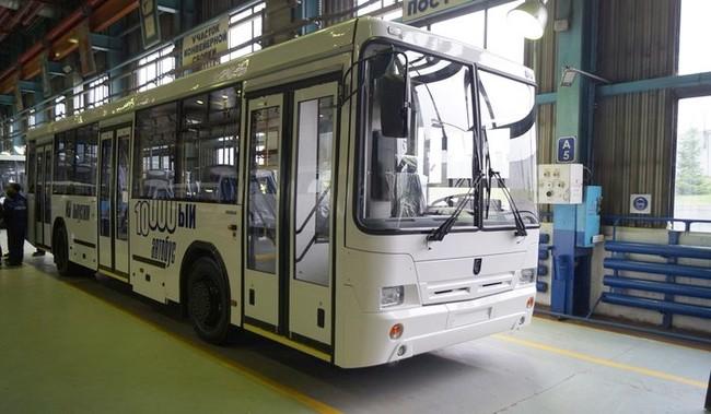 Нефтекамский автозавод выпустил свой 10000-ый автобус!