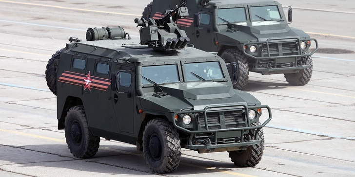 """Партия новых бронеавтомобилей """"Тигр-М"""" пополнила автопарк спецназовцев на Ставрополье"""