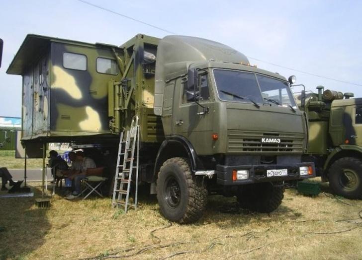 Войска ЦВО получили по гособоронзаказу новейшие командные пункты АПЕ-5К