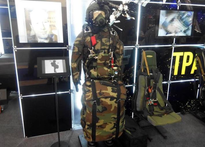 Система десантирования «Диверсант» на МАКС-2015