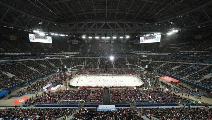 Новый рекорд в хоккее по посещаемости матча установила Россия