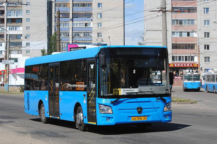 Брянская область, ЛиАЗ-4292.60 (1-2-0) № 468