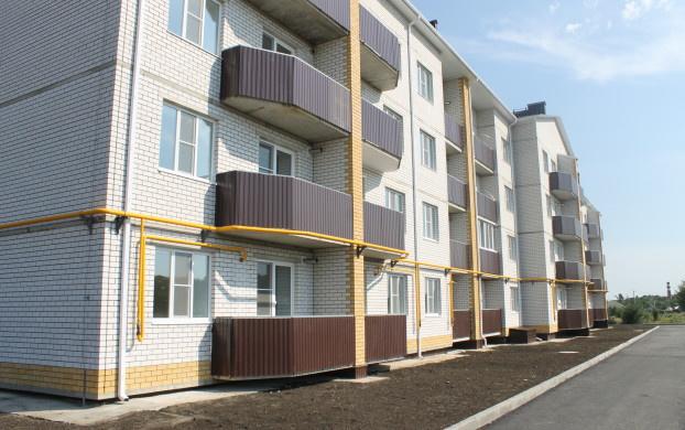 Новый дом №2 в Северном микрорайоне города Острогожск Воронежской области, построенный в рамках реализации 185-ФЗ.