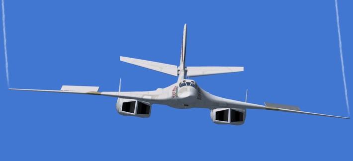 Первый стратегический бомбардировщик Ту-160М2 уже находится на этапе строительства