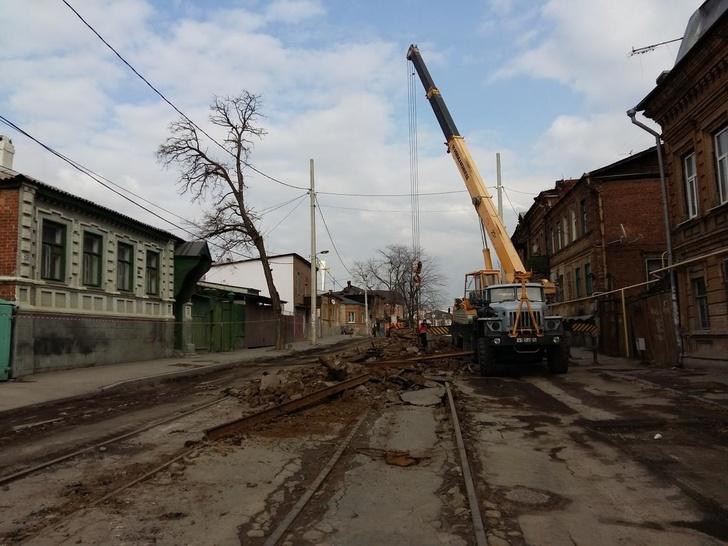 Реконструкция ул. Станиславского в Ростове-на-Дону