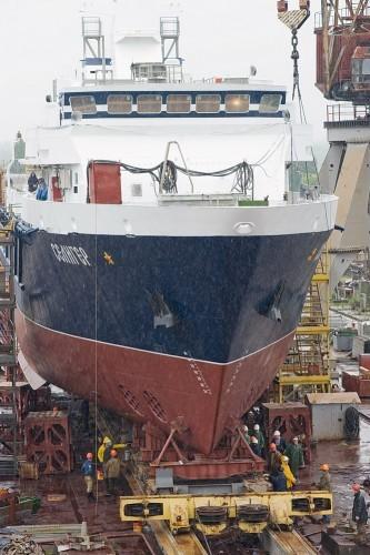 Опытовое судно «Селигер» – головное судно проекта 11982