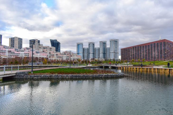 Прогулки по Москве. Парк «Ходынское поле»