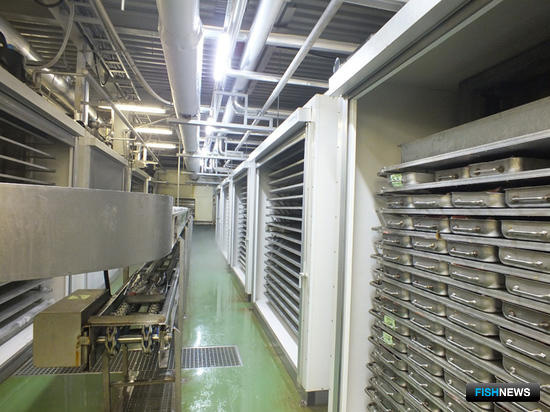 Южно-Курильский рыбокомбинат запустил на Кунашире модернизированный цех по производству продукции из водных биоресурсов