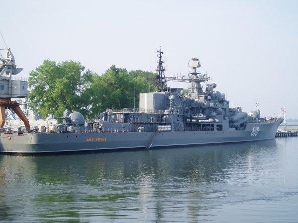 """Эсминец проекта 956А """"Настойчивый"""""""