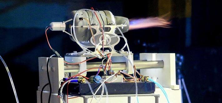 успешный эксперимент по запуску малогабаритного газотурбинного двигателя, созданного на основе аддитивных технологий