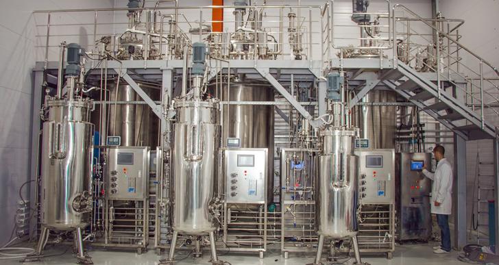 Вторая очередь завода по производству микробиологических безвредных удобрений запущена в Казани