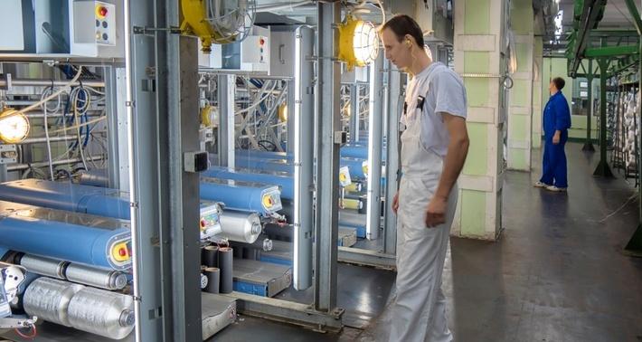 «Курскхимволокно» запустила единственное в России производство высокопрочной полиамидной нити