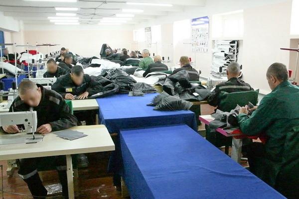 В ИК-10 ГУФСИН России по Пермскому краю открылось новое швейное производство