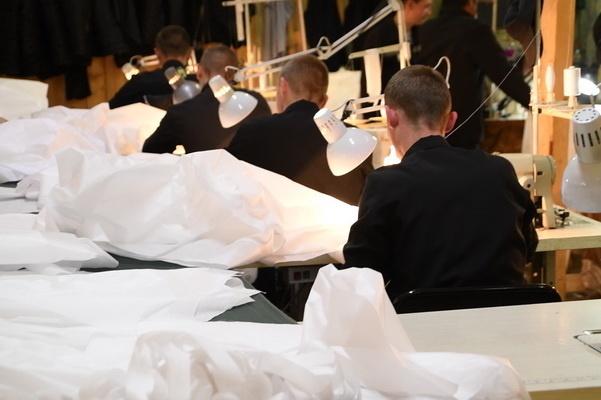 В ИК-12 ГУФСИН России по Пермскому краю открылось новое швейное производство