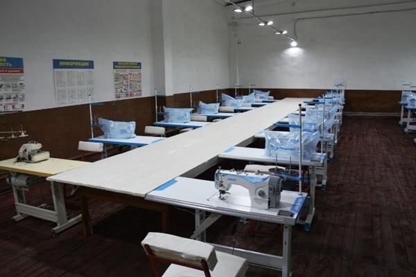 Помещение нового швейного цеха ИК-6.