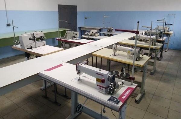Новый швейный цех в ИК-4