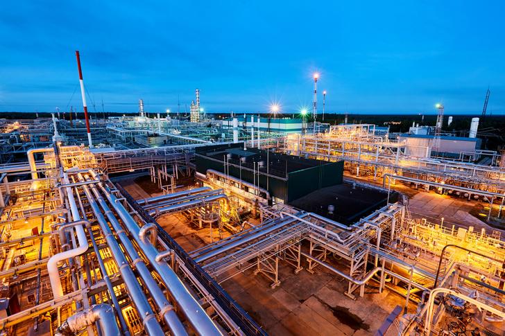 Южно-Балыкский газоперерабатывающий завод «СибурТюменьГаза». Фото © ПАО «СИБУР Холдинг»