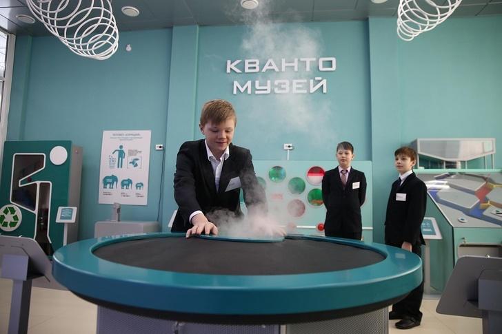 В Башкирии открылся первый в России детский технопарк «Кванториум» в моногороде
