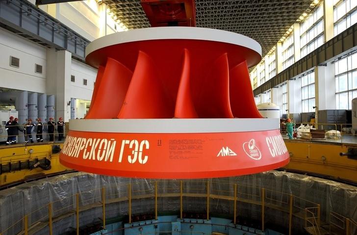 На Красноярской ГЭС ЕвроСибЭнерго введен в эксплуатацию первый модернизированный гидроагрегат
