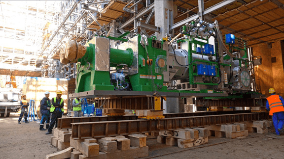 Экструдер - ключевое оборудование установки по производству гранул полиэтилена
