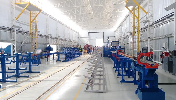 Производственные мощности сервисного центра в Казахстане. Фото © «Новомет»