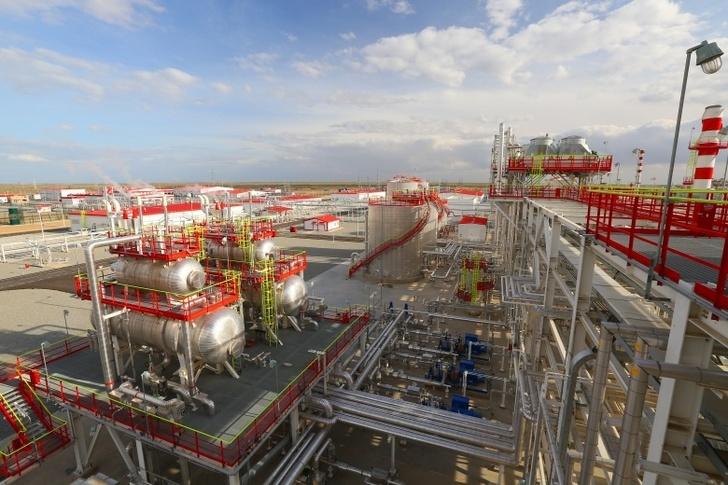 Лукойл запустил в Узбекистане Кандымский газоперерабатывающий завод