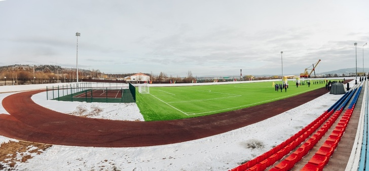В Мухоршибирском районе открыты новые спортплощадка и футбольное поле