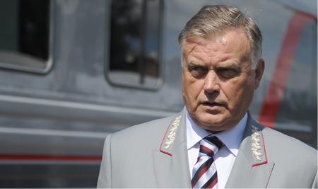 Суровый глава РЖД Владимир Якунин