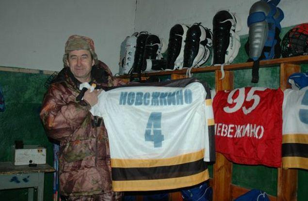 Жариков создал в своем Невежкине целую НХЛ.