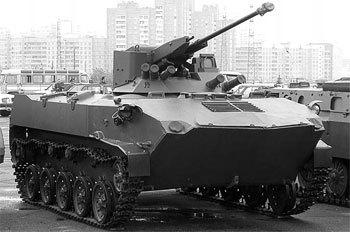 Модернизированная БМД-1 с боевым модулем Cobra.