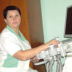 Старшая хирургическая сестра Ирина Андреевна Ушакова