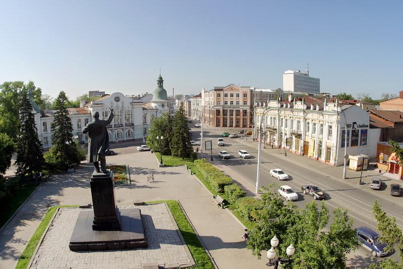 Иркутск купеческий.  Города и сёла России.