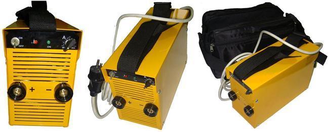 ...является выпрямителем (сварочный аппарат постоянного тока) и используется как импульсный сварочный аппарат.