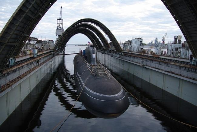 """Атомная подводная лодка  """"Северодвинск"""