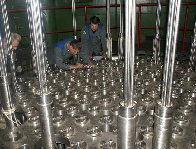 контрольная сборка реактора
