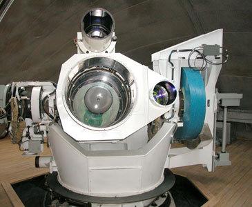 Телескоп траекторных измерений первой очереди АОЛЦ