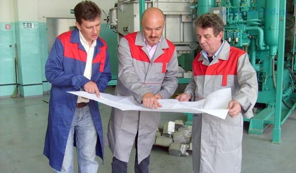 совместная работа итальянских и российских инженеров