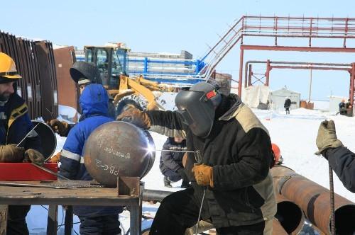 строительство склада конденсата на Нижне–Квакчикском месторождении