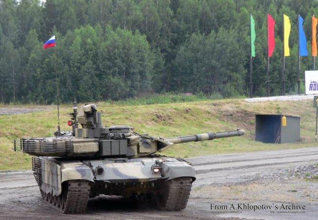 Новый российский танк появится в 2013