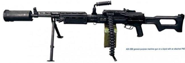 """Холоднее и точнее: пулемет АЕК-999  """"Барсук """""""