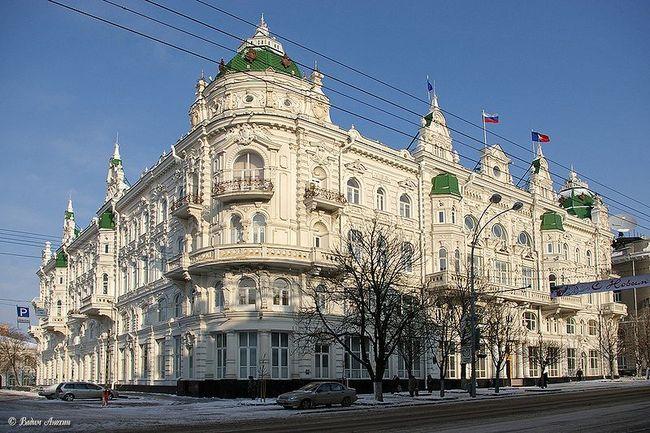 бывшая городская Дума, сегодня мэрия города Ростова-на-Дону.